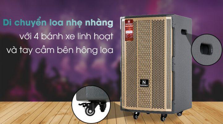 Loa kéo Karaoke Nanomax S-1000 450W 3