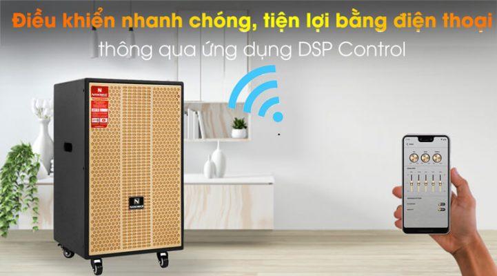 Loa kéo Karaoke Nanomax S-2000 680W 6