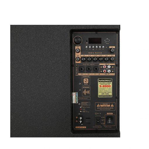 Loa kéo Karaoke Nanomax S-2000 680W 5