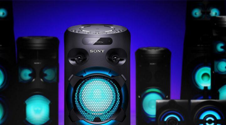 Dàn âm thanh Hifi Sony MHC V02 4
