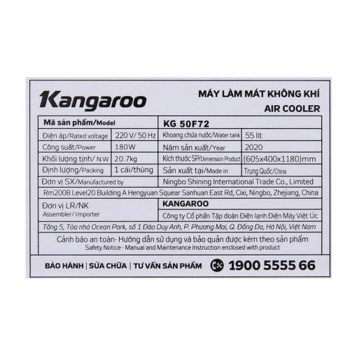 Quạt điều hòa Kangaroo KG50F72 ava 16