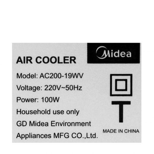 Quạt điều hòa Midea AC200 19WV ava 17