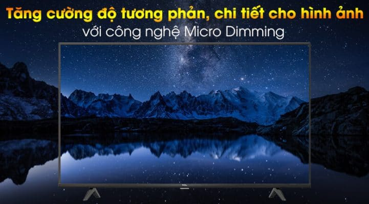 Android Tivi TCL 4K 43 inch 43P615 5