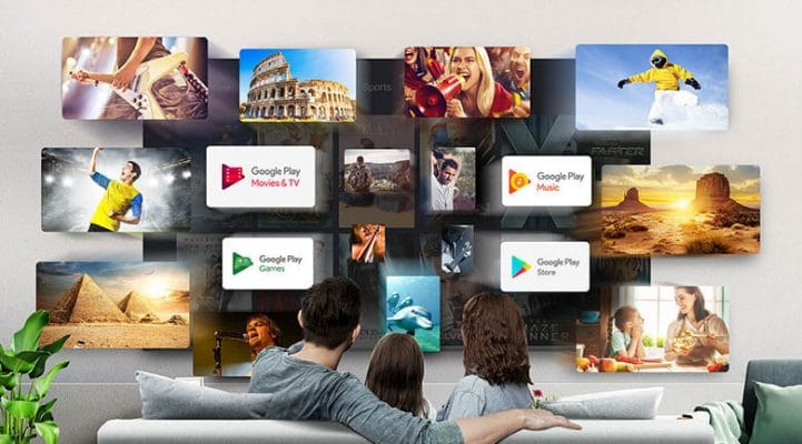 Android Tivi TCL 4K 43 inch 43P615 8