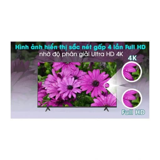 Android Tivi TCL 4K 50 inch 50P615 ava 8