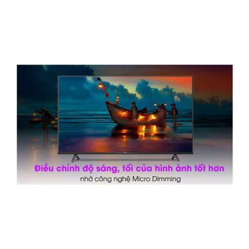 Android Tivi TCL 4K 55 inch 55P615 ava 10