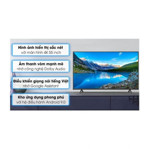 Android Tivi TCL 4K 55 inch 55P615 ava 6