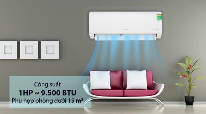 Máy lạnh Comfee Inverter 1 HP SIRIUSA 9ED 5