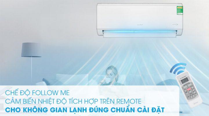 Máy lạnh Comfee Inverter 1 HP SIRIUSA 9ED 6