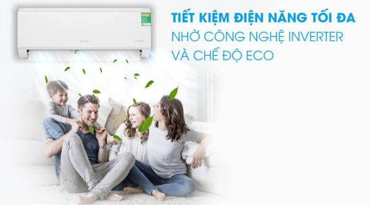 Máy lạnh Comfee Inverter 1 HP SIRIUSA 9ED 2
