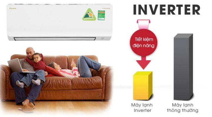Máy lạnh Daikin Inverter 1 HP ATKA25UAVMV 6