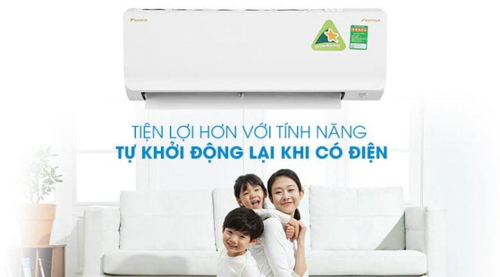 Máy lạnh Daikin Inverter 1 HP ATKA25UAVMV 9