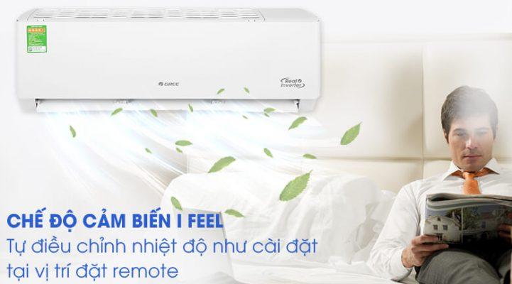 Máy lạnh Gree Inverter 1 HP GWC09PB K3D0P4 3