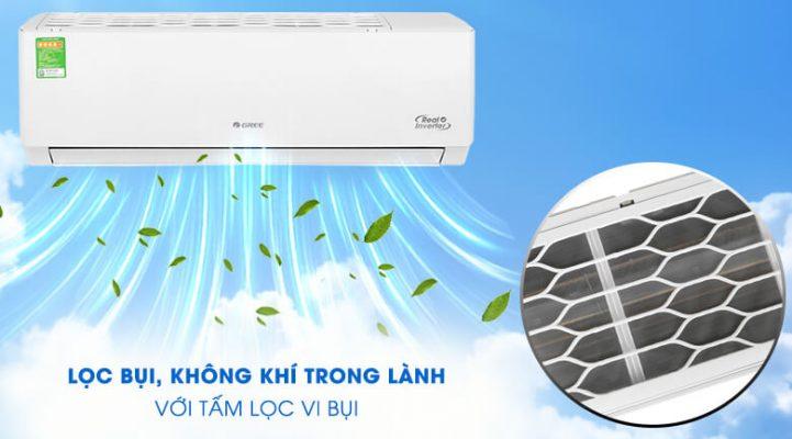 Máy lạnh Gree Inverter 1 HP GWC09PB K3D0P4 5