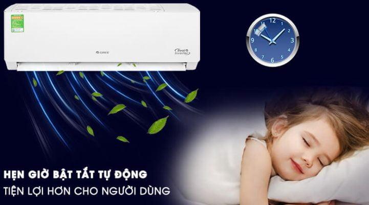 Máy lạnh Gree Inverter 1 HP GWC09PB K3D0P4 8