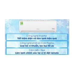 Máy lạnh Gree Inverter 1 HP GWC09PB K3D0P4 ava 10