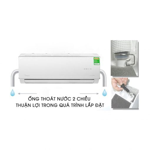 Máy lạnh Midea Inverter 1 HP MSAFA 10CRDN8 ava 10