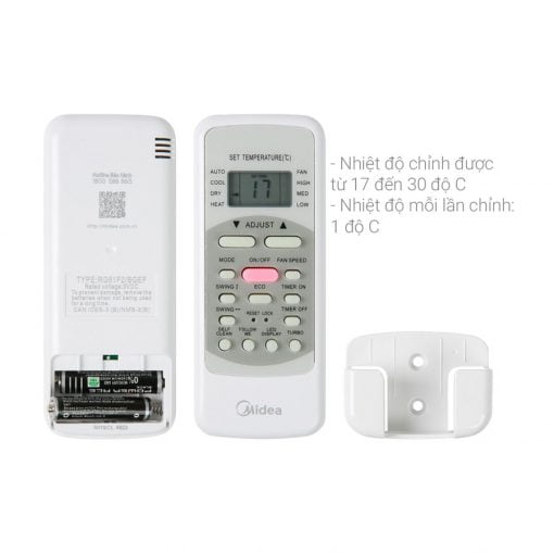 Máy lạnh Midea Inverter 1 HP MSAFA 10CRDN8 ava 6