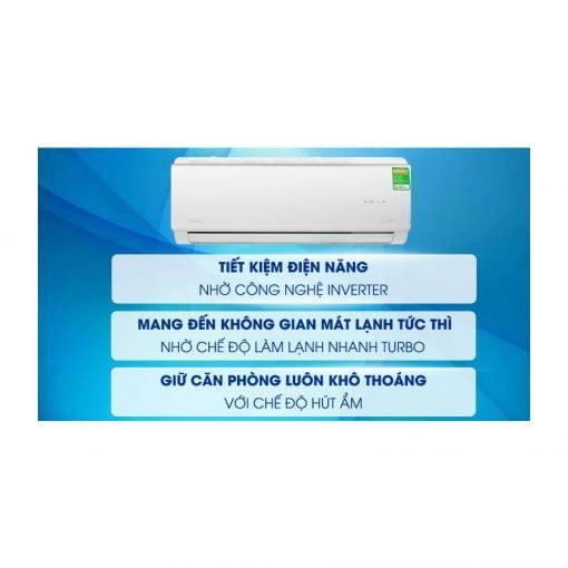 Máy lạnh Midea Inverter 1 HP MSAFA 10CRDN8 ava 8