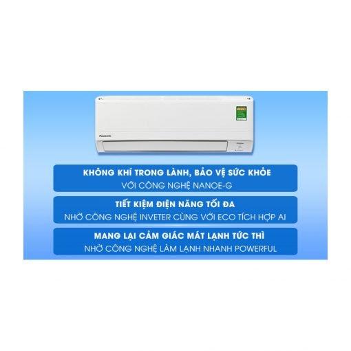 Máy lạnh Panasonic Inverter 1 HP CU CS PU9 ava 11