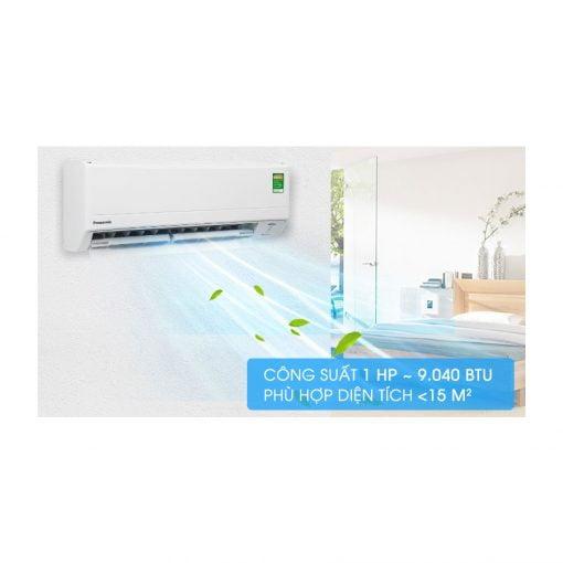 Máy lạnh Panasonic Inverter 1 HP CU CS PU9 ava 15