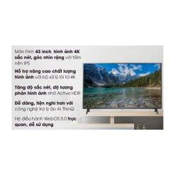 Smart Tivi LG 4K 43 inch 43UN7290PTF ava 7