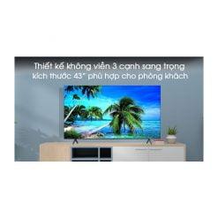 Smart Tivi Samsung 4K 43 inch UA43TU7000 ava 8