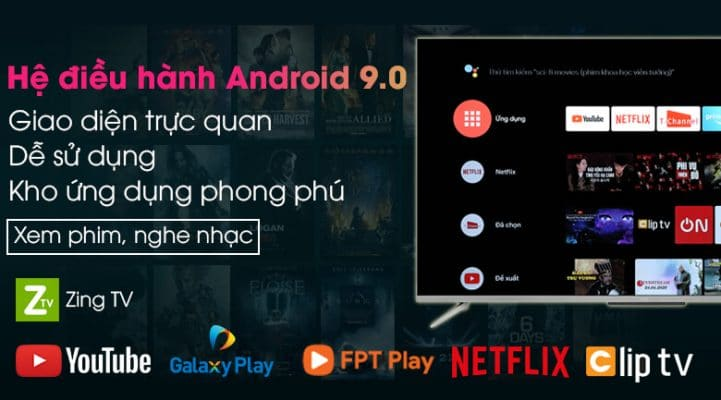 Android Tivi TCL 50 inch 50P715 8