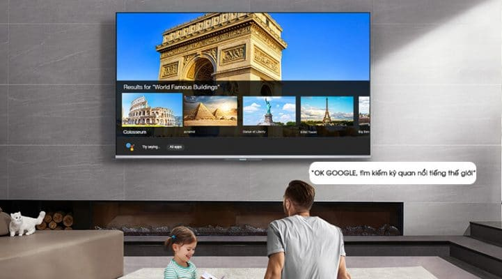 Android Tivi TCL 50 inch 50P715 9