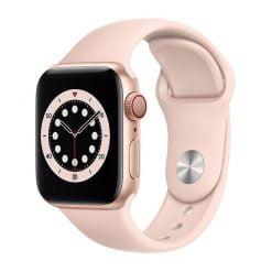 Apple Watch S6 LTE 40mm viền nhôm dây cao su ava 1