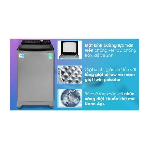 máy giặt Aqua 10 Kg AQW FR100ET S ava 10