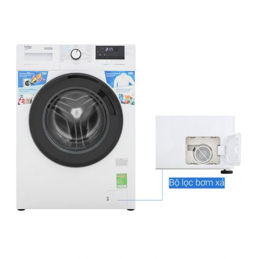 máy giặt Beko Inverter 10 kg WCV10612XB0ST ava 7