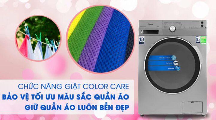 Máy giặt Midea Inverter 8.5 Kg MFK85 1401SK 4