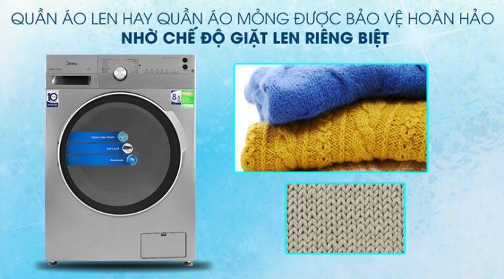 Máy giặt Midea Inverter 8.5 Kg MFK85 1401SK 6