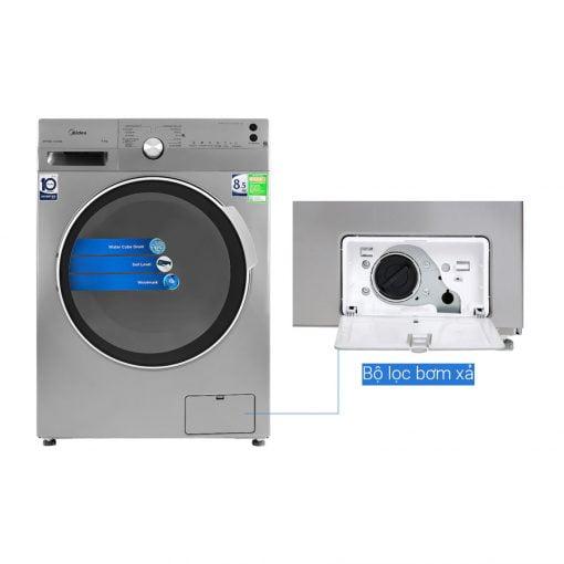 Máy giặt Midea Inverter 8.5 Kg MFK85 1401SK ava 7