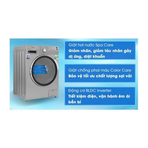 Máy giặt Midea Inverter 8.5 Kg MFK85 1401SK ava 9