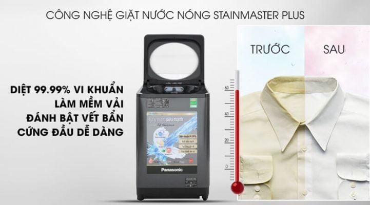 Máy giặt Panasonic Inverter 9.5 Kg NA FD95V1BRV 2