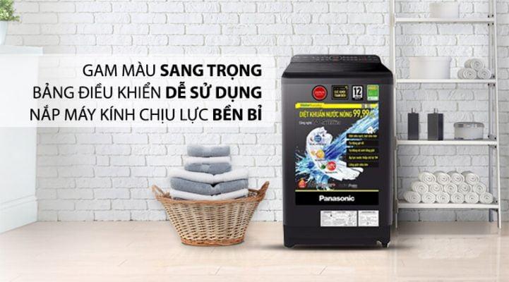 Máy giặt Panasonic Inverter 9.5 Kg NA FD95V1BRV 5