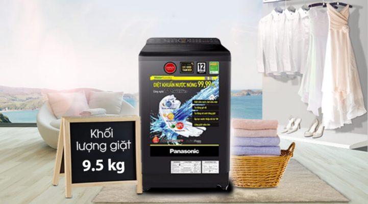 Máy giặt Panasonic Inverter 9.5 Kg NA FD95V1BRV 9