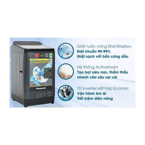 Máy giặt Panasonic Inverter 9.5 Kg NA FD95V1BRV ava 10