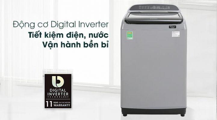 Máy giặt cửa trên Samsung WA10T5260BY SV 2