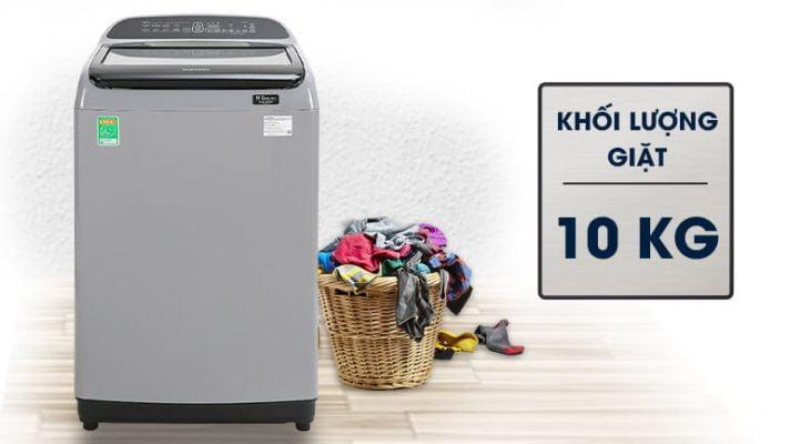 Máy giặt cửa trên Samsung WA10T5260BY SV 8