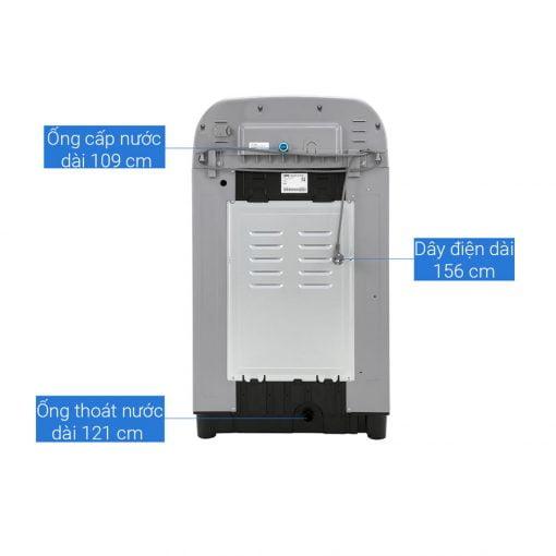 Máy giặt cửa trên Samsung WA10T5260BY SV ava 8