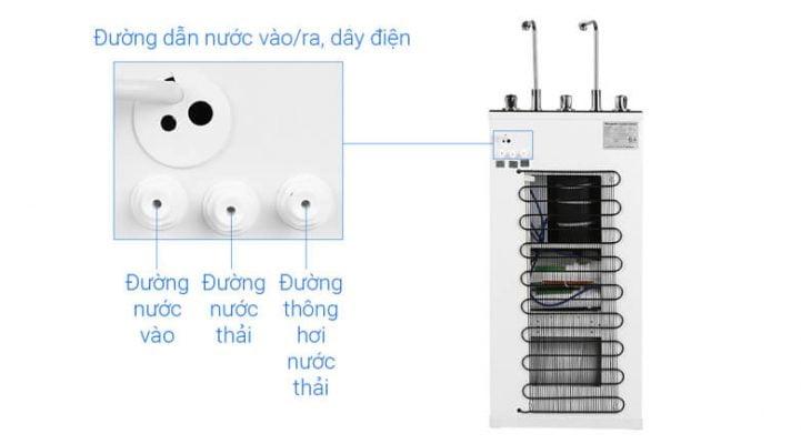Máy lọc nước RO Kangaroo KG10A4 VTU 10 lõi 8