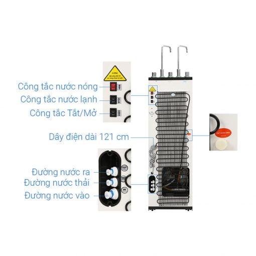 Máy lọc nước RO nóng nguội lạnh Karofi Optimus Duo O-D138 7 lõi ava 4
