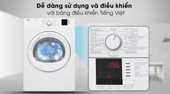 Máy sấy Beko 8 Kg DA8112RX0W 9