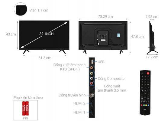 Tivi FFalcon 32 inch 32F1 1