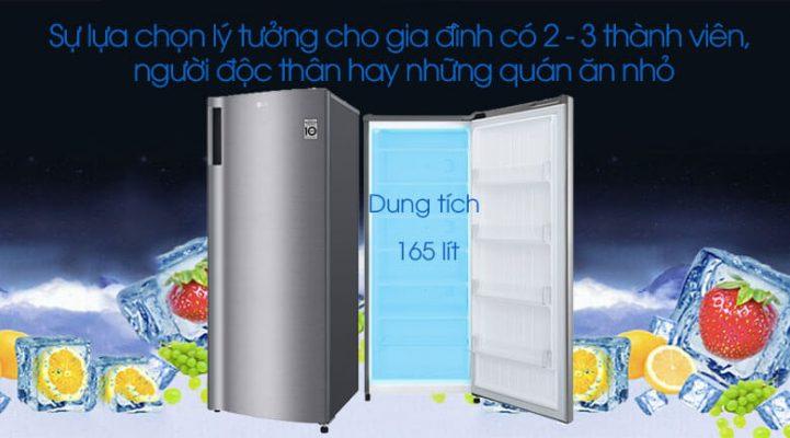 tủ đông LG 165 lít GN F304PS 5