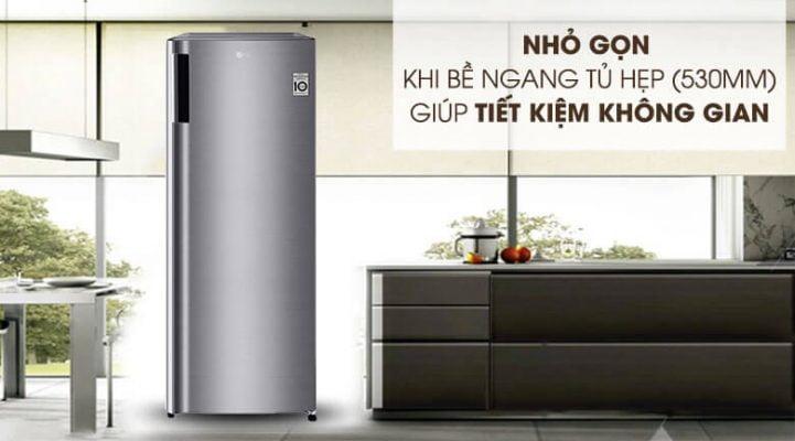 tủ đông LG 165 lít GN F304PS 6