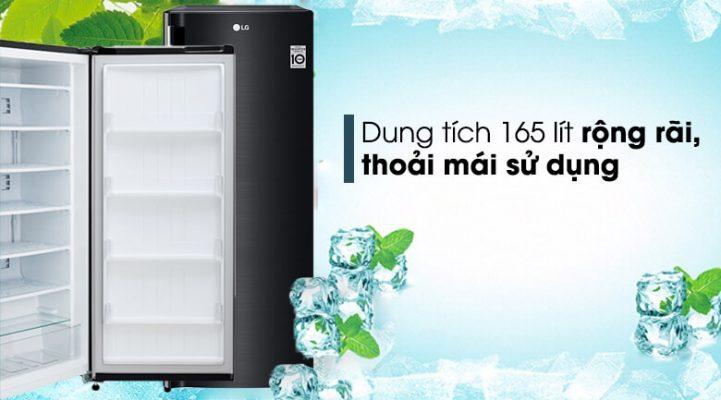 Tủ đông LG 165 lít GN-F304WB 6